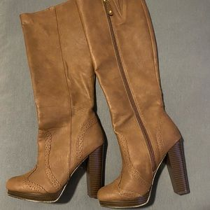 NWOT H&M Tall Heeled Boot
